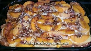 Overnight Peaches N Cream French Toast