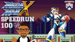 GIVEAWAY AT 450 SUBS - MEGA MAN X BEGINNER SPEEDRUN (100%) | Stream  - Students of Gaming