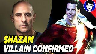 Mark Strong Confirms SHAZAM Villain Role!