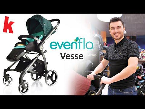Прогулочная коляска новинка 2019 года - Evenflo Vesse. Видео обзор детской коляски Karapuzov.com.ua