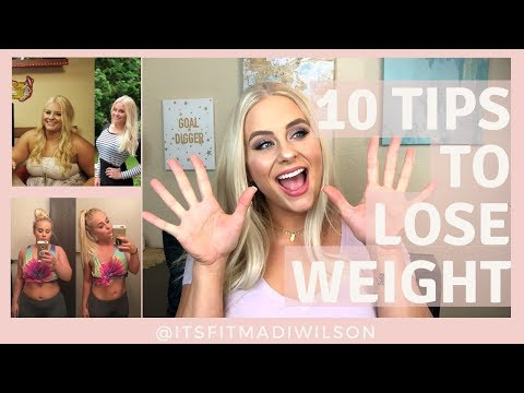 10 EASY TIPS TO LOSE WEIGHT | I Lost 100 POUNDS