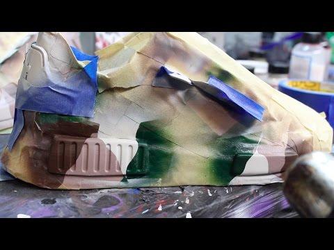 Adidas Nmd Camo Custom!