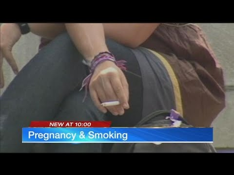 Smoking increases risk of infant death by nearly 40 percent, doctors say