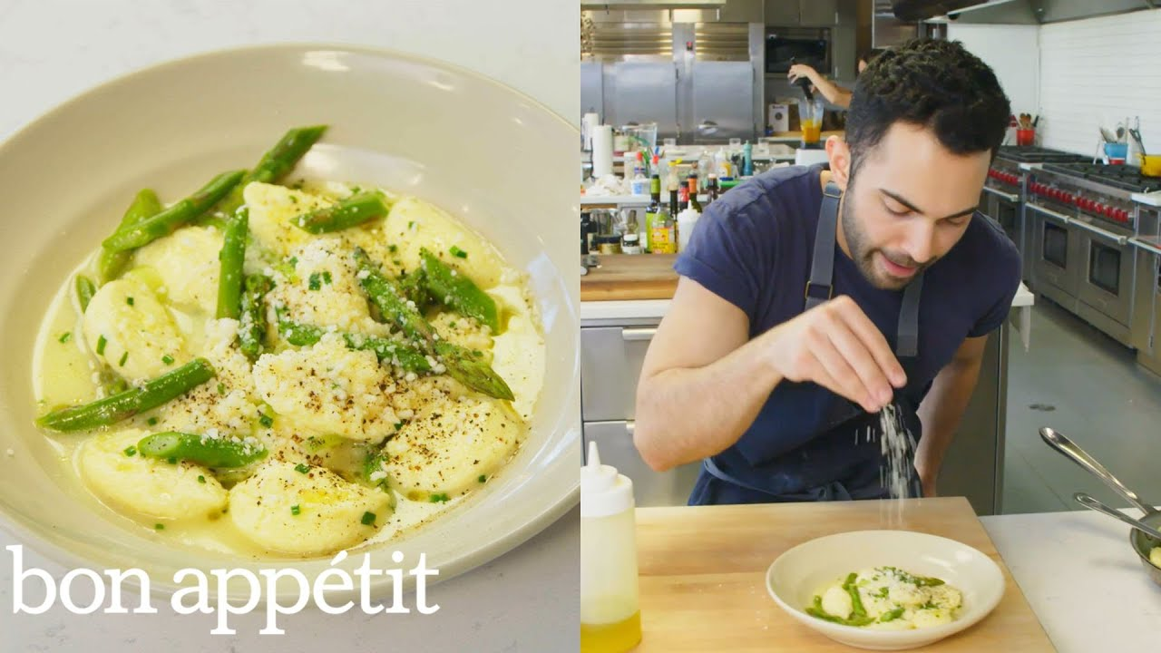 Andy Makes Pillowy Delicious Ricotta Dumplings From The Test Kitchen Bon Appetit