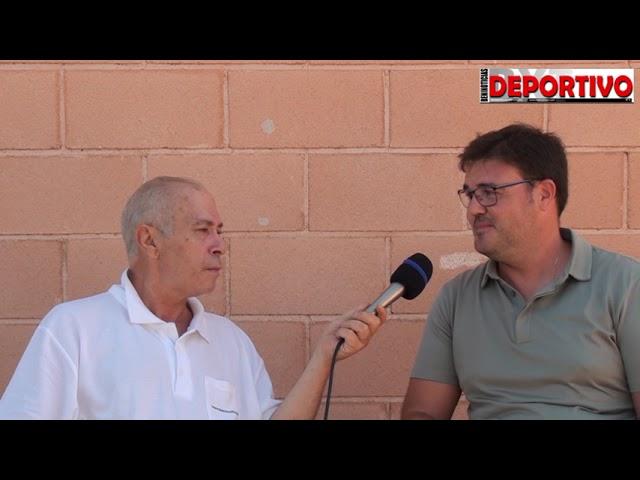 Entrevista al entrenador del Filial del CF Benidorm, Luis Iborra