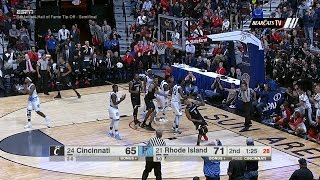 Men's Basketball Highlights: Cincinnati 71, Rhode Island 76 (Courtesy: ESPN)