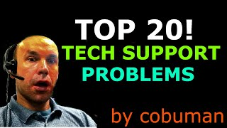 TOP 20 - Most Common Desktop PC Support Issues and Solutions Final Version