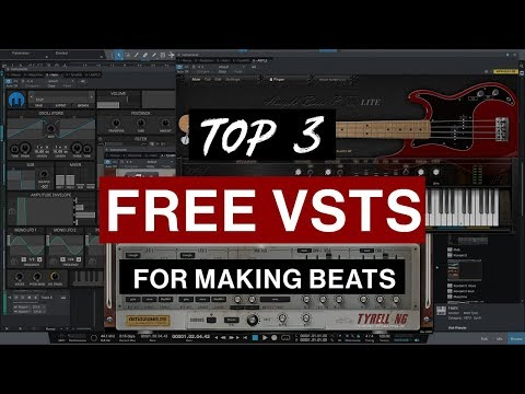 My Top 3 FREE VSTs For Making Beats (January 2018)