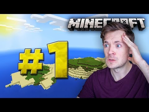 Minecraft Xbox Survival Island - Lets Play Part 1 [A NEW SEED] Xbox One Edition - W/Commentary