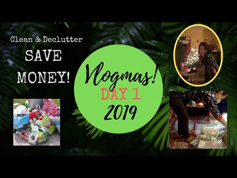 Save Money By Using What You Have - Inventory & Cleaning - Vlogmas Day 1
