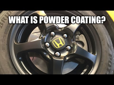 What Is Powder Coating? New Wheels For The S2000!