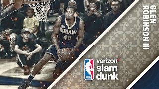 Glenn Robinson III Wins the 2017 Verizon Slam Dunk Contest | 02.18.17