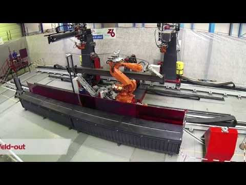 ZEMAN - compact robotic beam assembly/welding (SBA Compact ...