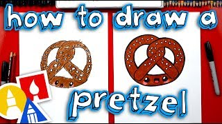How To Draw Funny Pretzel