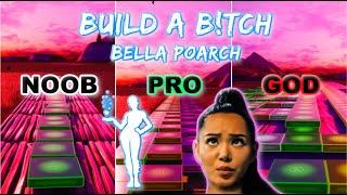 Download lagu Bella Poarch - Build a B*tch (Build Up Emote) - Noob vs Pro vs God (Fortnite Music Blocks) map code!