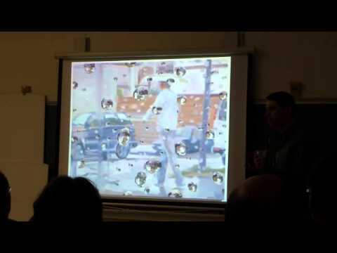 Ben Reeves -artist talk- at the Vancouver Island School of Art