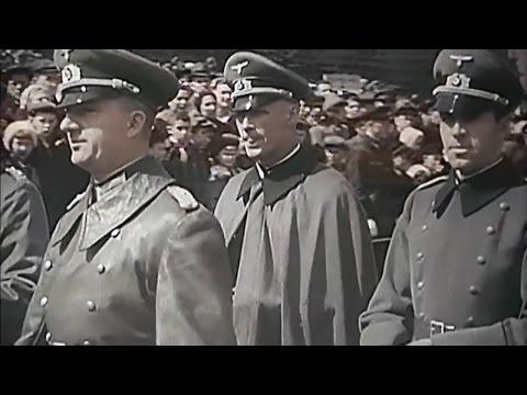 jak Rusové přivítali nacistickou delegaci v Moskvě 1941