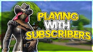 Fortnite Battle Royale // PLAYING WITH SUBSCRIBERS (Z-Bucks) // Xbox One // Wins: 685+ // Kills 15k+