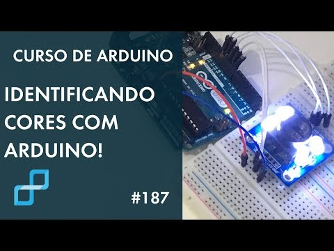 SENSOR DE COR TCS3200   Curso De Arduino #187