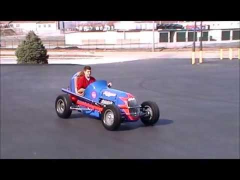 Hillegass Midget Race Car Youtube