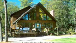 Cabin Homes Video 2 | House Plans And More