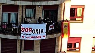 Soria ¡YA! pide a los sorianos que salgan a las ventanas