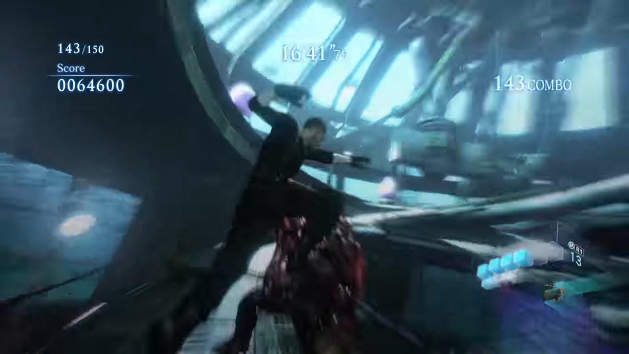 Resident Evil 6(PS4)Mercenaries DUO Requiem For War