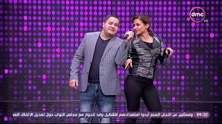 بالفيديو- نيلي كريم ترقص على غناء إدوارد