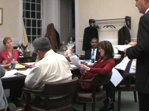 Salem County Freeholder Workshop Meeting December 19 2012 part 1 of 2