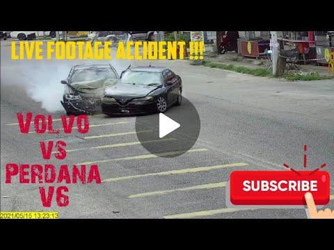 Download Live Accident Perdana V6 Vs Volvo
