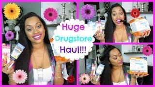HUGE Drugstore Haul! NEW 2014 Thumbnail