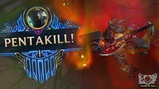 Best Pentakill Montage #1 - League of Legends ( Mordekaiser, Illaoi, Darius, Kled, Yasuo...)