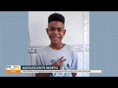 Reportagem sobre a morte de João Pedro Mattos