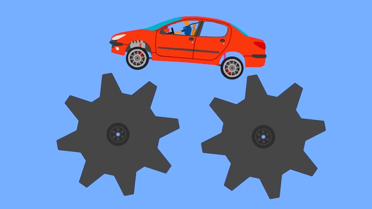 Extreme Car Crashes - Phun Algodoo Moments #8