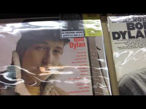 The Vinyl Guide - Disk Union, Record Shop, Shibuya Tokyo Japan Pt 2, Rock section