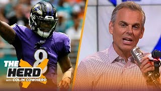 Colin Cowherd plays the 3-Word Game after NFL Week 1   THE HERD