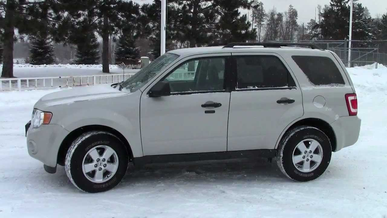 2009 ford escape xlt 4wd youtube. Black Bedroom Furniture Sets. Home Design Ideas