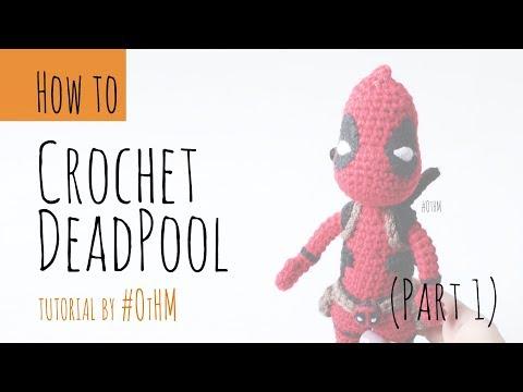 Free Crochet Pattern - DeadPool - Jucarie Crosetata | Crochet toys ... | 360x480