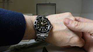 Ginault Ocean Rover 181070GSLN Dive Watch 300m for sale on ebay