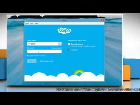 How to open Skype® for Windows® Desktop automatically