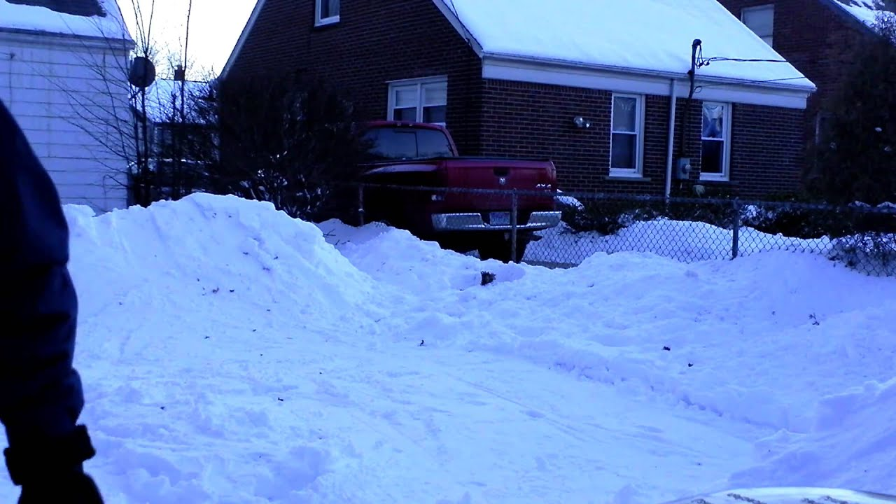 Backyard Snow Halfpipe Youtube