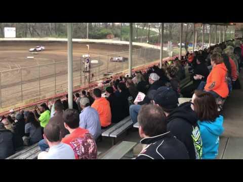 Matt Shannon Heat race Highland Speedway 3/25/17