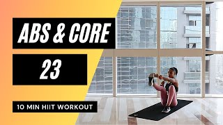 No. 46 | Abs and Core HIIT Workout with Modifications (Beginner & Low Impact)