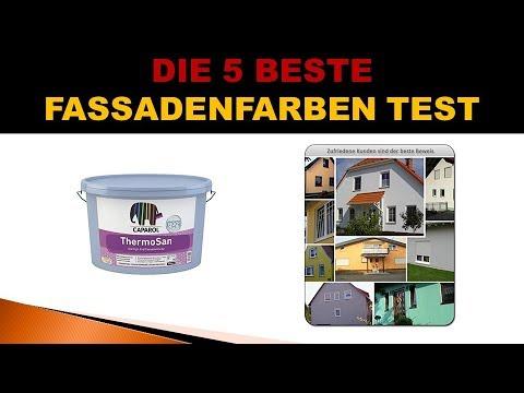 Beste Fassadenfarben Test 2019 Youtube