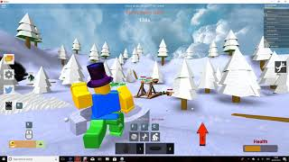 Roblox Snowball Fighting