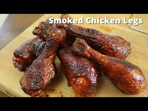 Smoked Chicken Legs on Big Green Egg with Malcom Reed HowToBBQRight