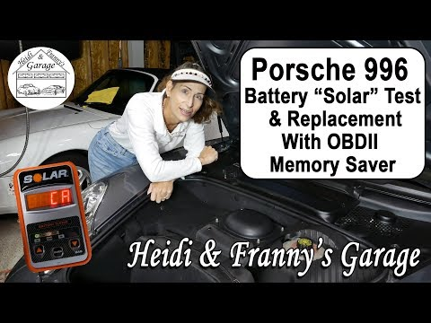 """How to Save Your Settings using OBDII Method (""""Solar"""" Test for Porsche 996 - DIY))"""
