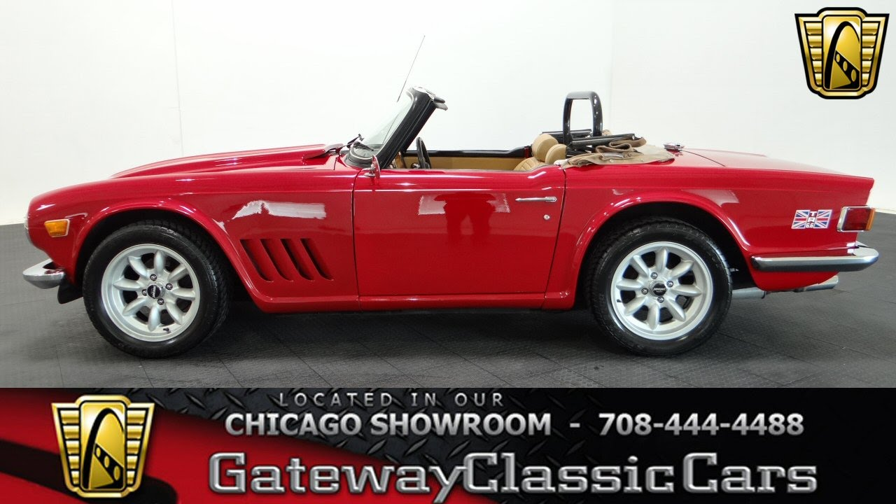 1973 Triumph TR6 Gateway Classic Cars Chicago #1046 - YouTube