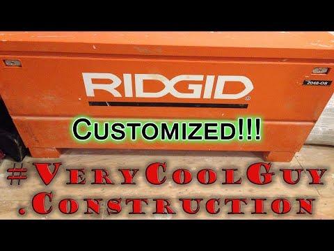 Ridgid Jobsite Box Customization