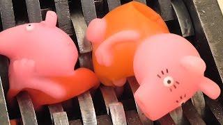シュレッダー  | 破砕機 |  peppa豚